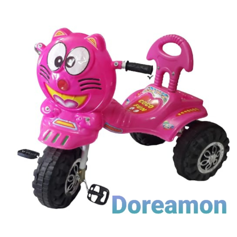 Doreamon Tricycle For Kids, Pack Of 16