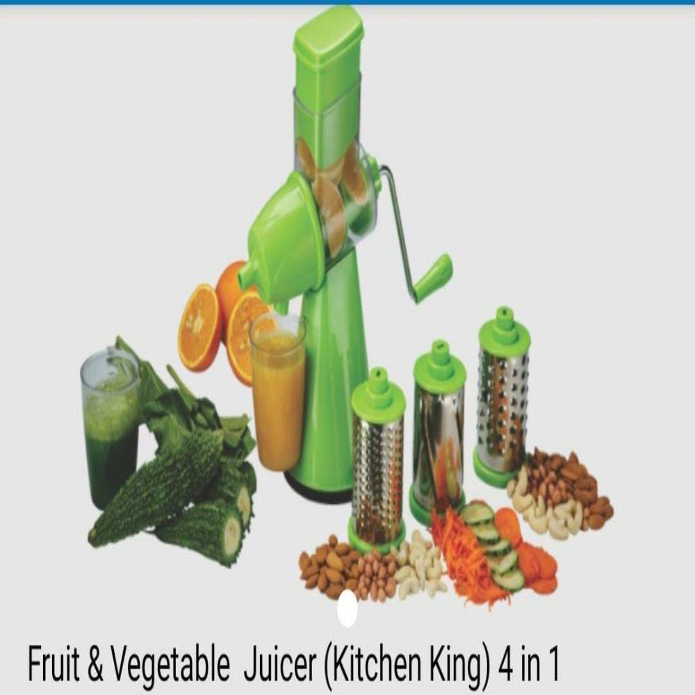 National Fruit & Vegetable Juicer kitchen King 4 In 1