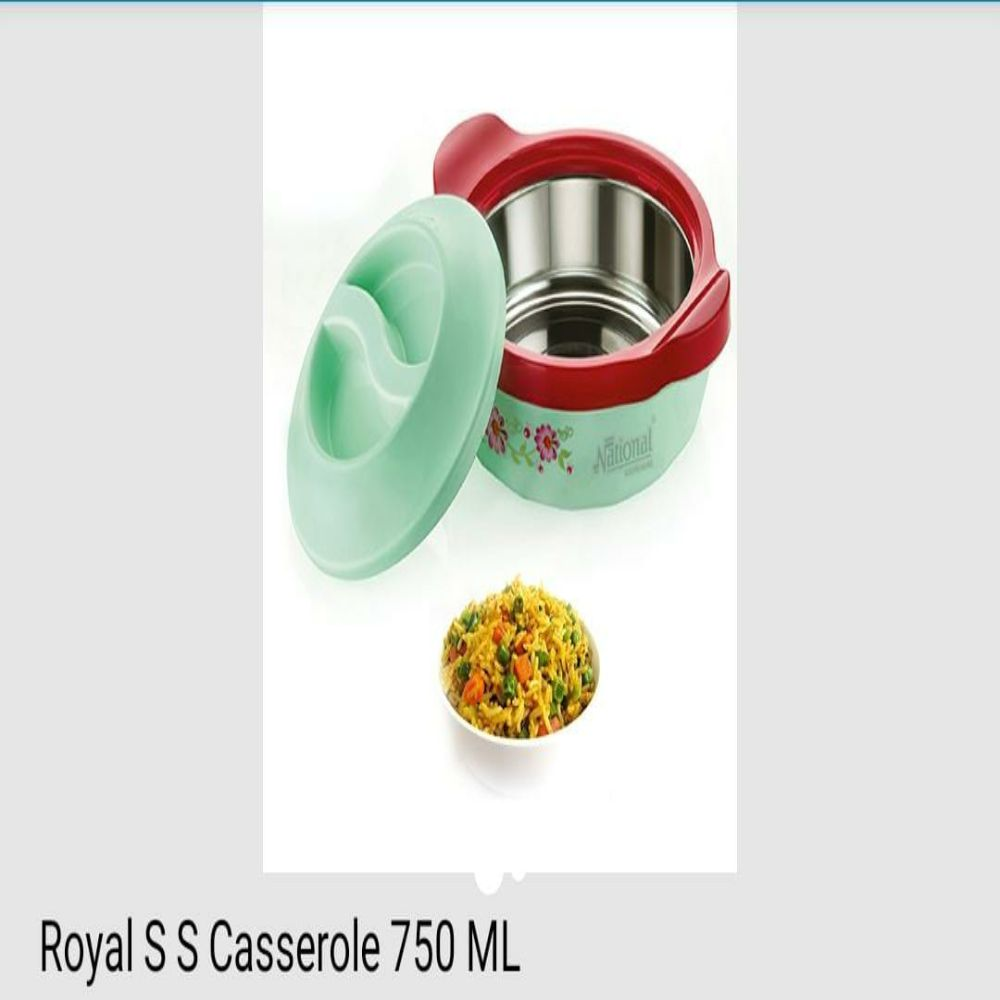 National Royal Ss Casserole 750 Ml