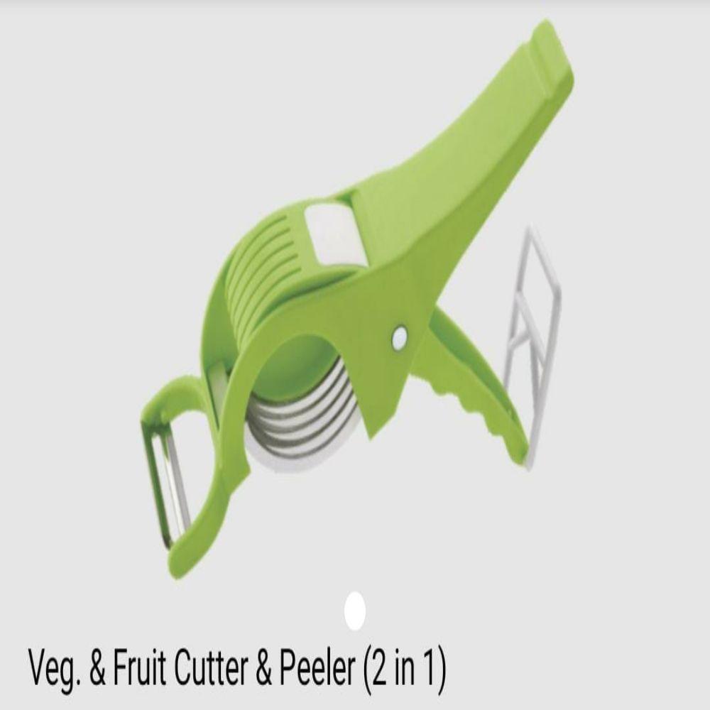 National Veg Fruit Cutter & Peeler 2 In 1