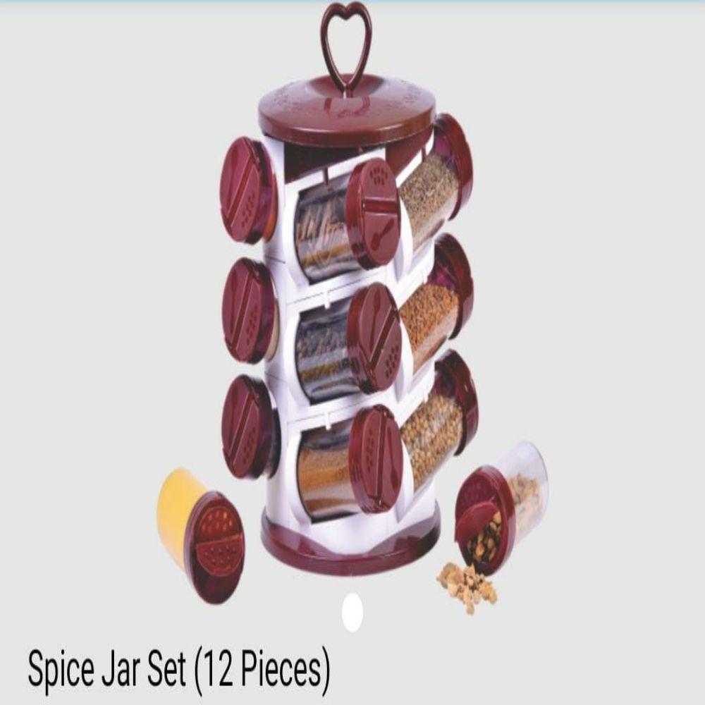 National Spice Jar Set 12 Pcs