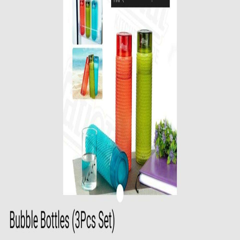 National Bubble Bottles 3 Pc Set