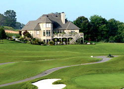 A typical golf course