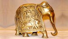 Brass Handicrafts- A Brass Elephant