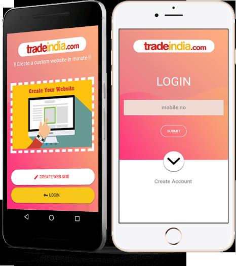 Mobile App Initial Screen