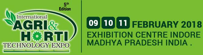 International Agri & Horti Technology Expo 2018.