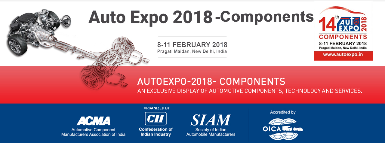 Auto Expo 2018 -Components