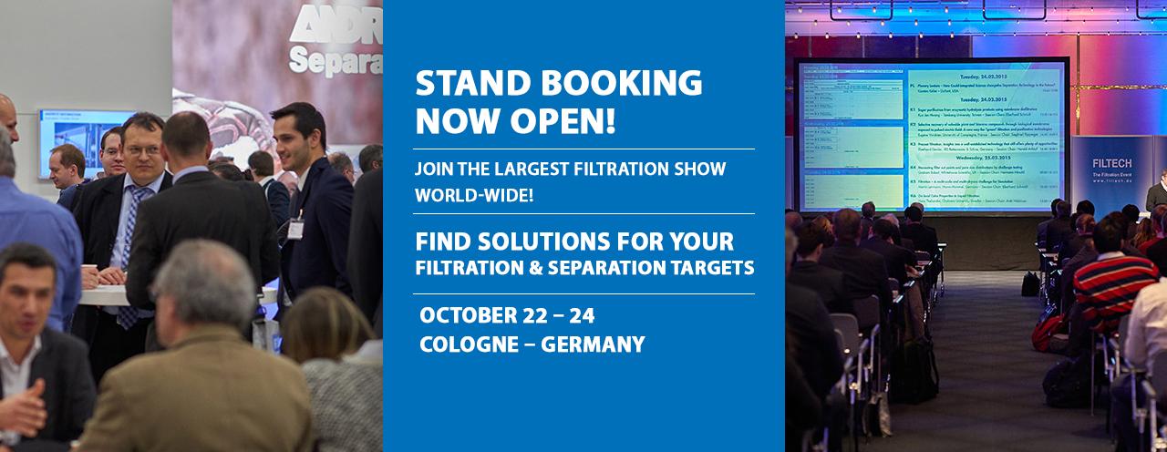 FILTECH Cologne 2019 EXHIBITION
