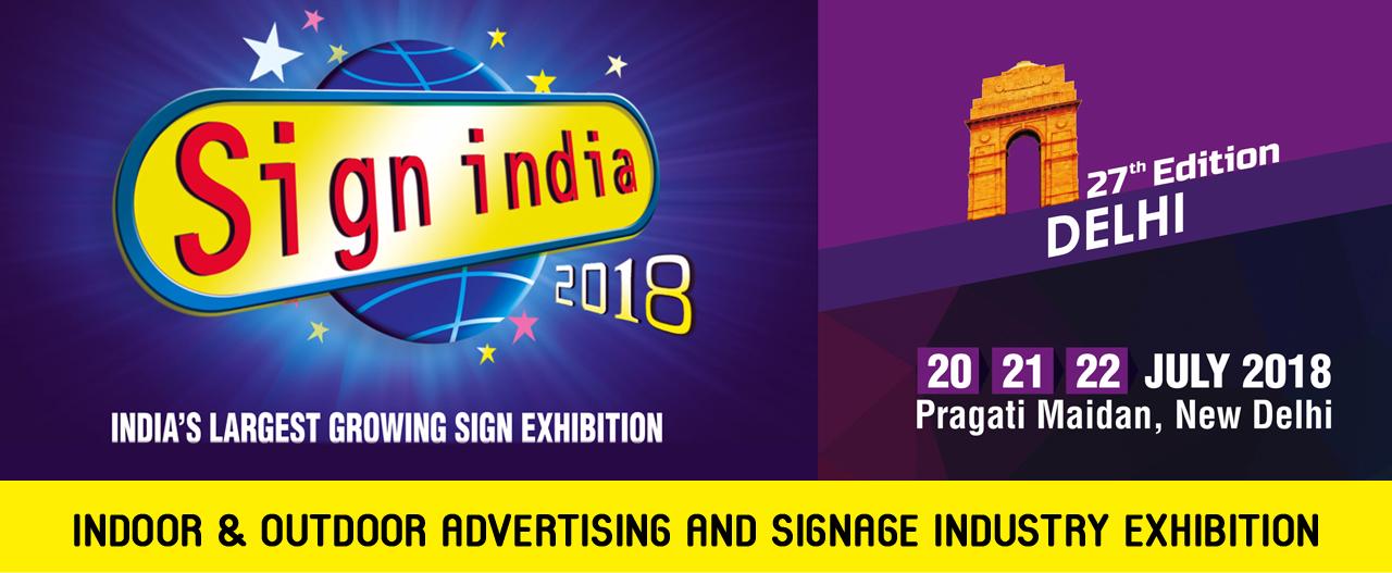 Sign India -2018