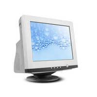 Flat crt monitor