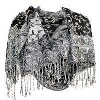 Silver shawl