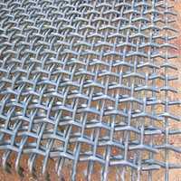 Wavy wire mesh