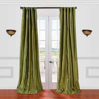 Taffeta curtain
