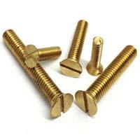 Brass machine screws