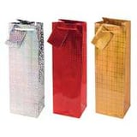 Handmade paper wine bags