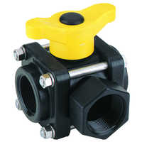 Polypropylene ball valves