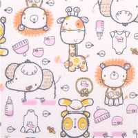 Baby flannel fabric