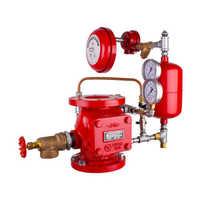 Wet alarm valve