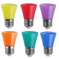 Colored light bulb