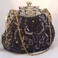 Glass beaded purses
