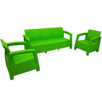 Plastic sofa