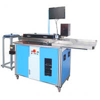 Steel rule bending cutting machine