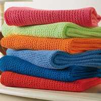 Cotton cellular blanket