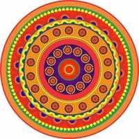 Rangoli stickers