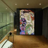 Glass Wall Mural