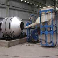 Lead rotary furnace