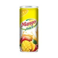 Canned mango juice