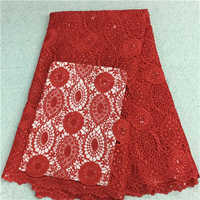 Polyester Embroidered Fabric