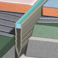 Roof expansion joints