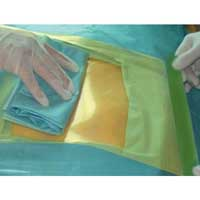 Hand drape