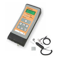 Portable vibration analyzer