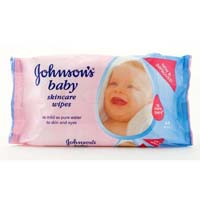 Johnson baby wipes