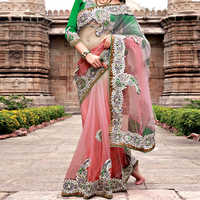 Engagement saree