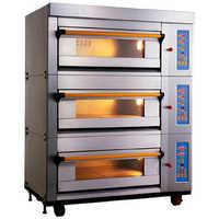 Lpg baking oven