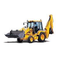 Cat backhoe loader