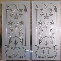 Glass etching services