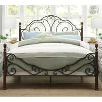Wrought Iron Double Bed