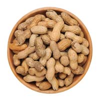 Dried peanut