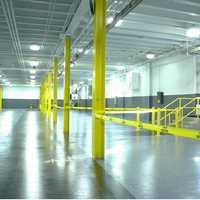 Industrial floor painting service