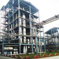 Alcohol distillation plant