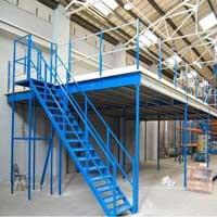 Warehouse mezzanine floor