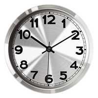 Stainless Steel Clock