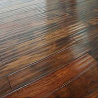 Reclaimed teak flooring