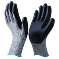 Nitrile dipped gloves