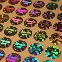 Hologram Security Sticker