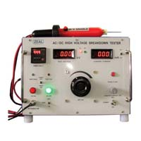 High voltage breakdown tester